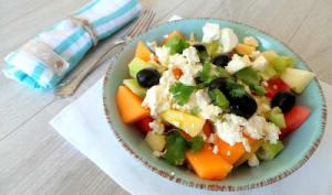 Salade fraîche pour l'été