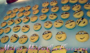 Mes macarons minions