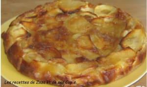 Gâteau douceur aux pommes