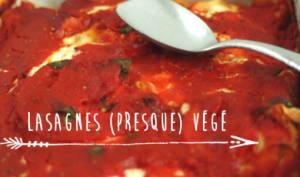 Lasagnes d'été presque végétariennes