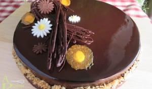 Tarte entremet Chocolat Passion