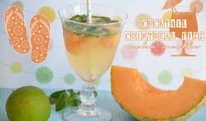 Cocktail Cointreau Fizz melon menthe