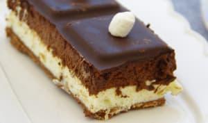 Croustifondant aux 3 chocolats