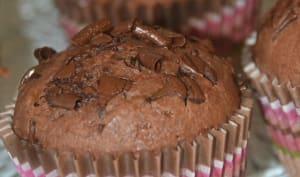 Muffins tout chocolat au yaourt