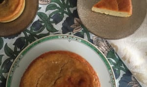 Le gâteau malélevé d'Elisabeth, patate douce et coco