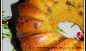 Savarin butternut/orange/raisins