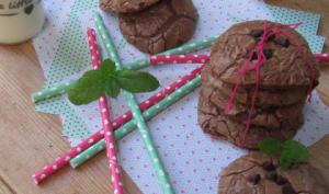 Cookies menthe et chocolat