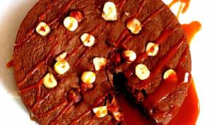 Brownie chocolat et noisettes du Piémont