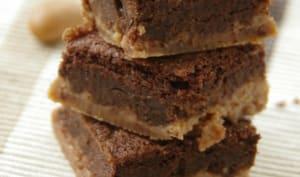 Gâteau magique chocolat et amandines spéculoos