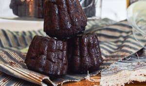 Cannelés au chocolat