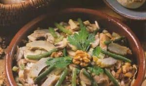 Salade aux champignons