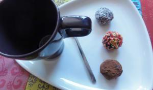 Déclinaison de truffes au chocolat