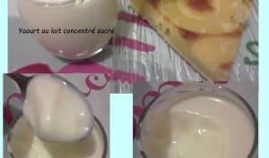 Yaourts au lait concentré sucré