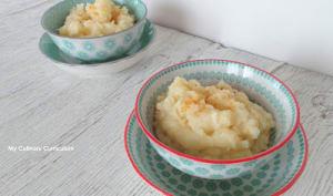 Écrasée de céleri et de pommes de terre au macis