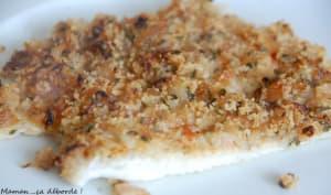 Filet de limande en croûte d'échalotes et citron