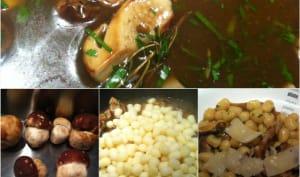 Chicche di Patate aux bolets et romarin