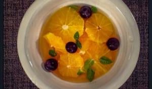Salade d'oranges à l'anis étoilé du Vietnam