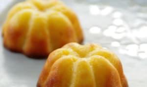 Moelleux ananas coeur citron