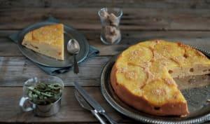 Gâteau farine de coco et ananas