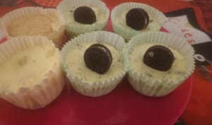 mini cheesecake oreos