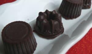 Chocolats fourrés Ganache au Salidou et brisures de Galette Bretonne