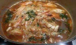 Sauce crustacés.