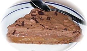 Tarte au Chocolat et Caramel