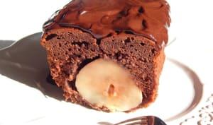 Cake choco-poire surprise