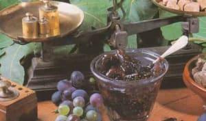 Confiture de figues sèches à la bergamote