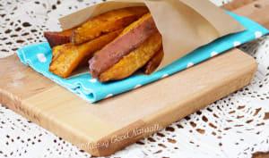 Frites de patates douces à la cannelle