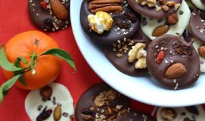 Mendiants aux 4 chocolats