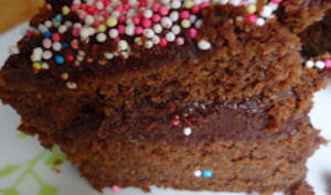 Gâteau au chocolat.