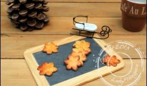 Sablés de Noël de Christophe Felder à la cannelle, anis, agrumes et fleur d'oranger