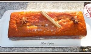 Pain d'épices à la marmelade d'orange