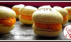 Macarons vanille/carotte