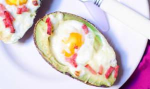 Avocado eggs
