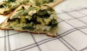 Une pizza….verte!