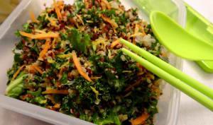 Taboulé de Quinoa Au Kale