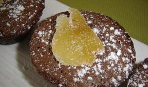 Moelleux au chocolat et au gingembre