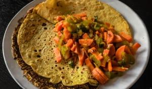 Légumes aux épices à l'indienne