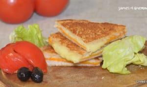 Sandwich au fromage grillé