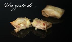 Croustillant au camembert