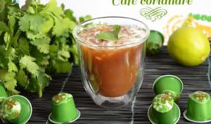 Cocktail café coriandre sans alcool