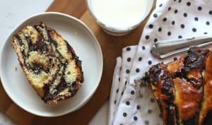 Krantz cake au chocolat et à la fleur d'oranger