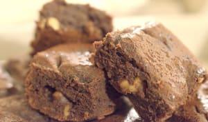 Brownies fondants aux noix caramélisées