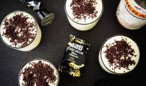 Alsatian Irish tiramisu coffee