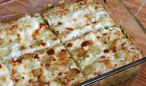 Lasagnes de ravioles de Royans aux épinards et au comté