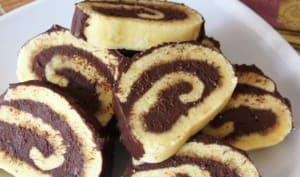 Roulé moelleux au chocolat