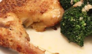 Poulet cuit dans le lait façon Jamie Oliver