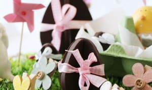 Oeufs en chocolat 3D